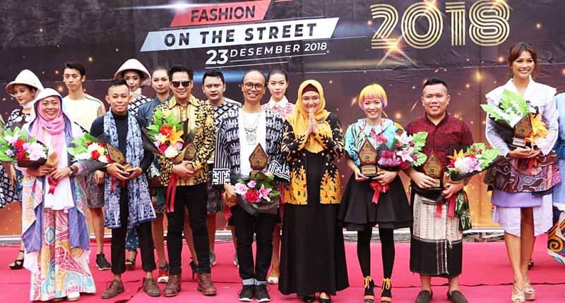 Desainer dan Puteri Indonesia Semarakkan Sumenep Batik Festival 2018